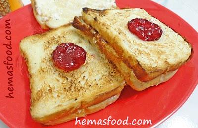 Bread Malai Toast