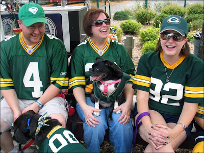 Green Bay Packer family