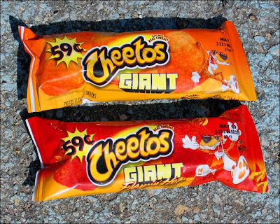 Giant Cheetos Packs