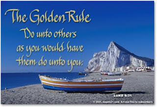 Not in bible do unto others as you would have them do unto you