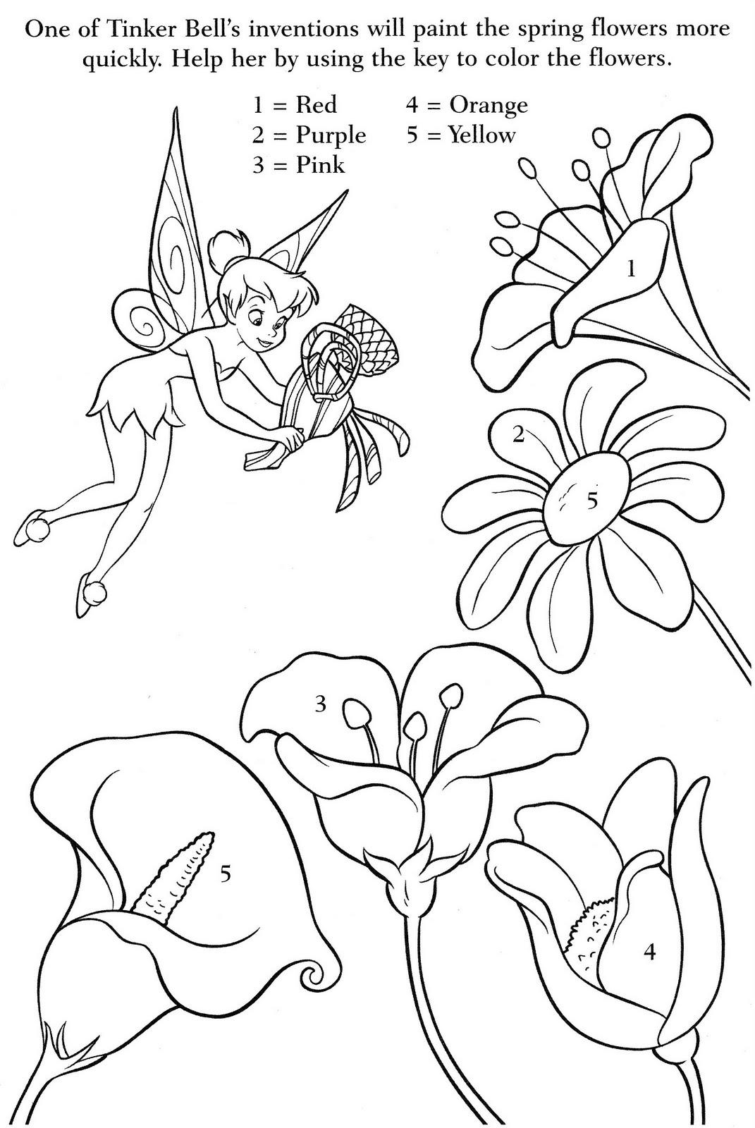 ... para colorear dibujos de tinkerbell para colorear campanita para