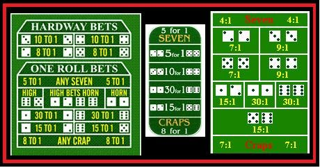 Craps two fours
