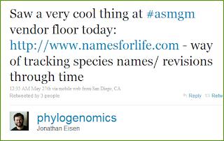 Twitter - Jonathan Eisen