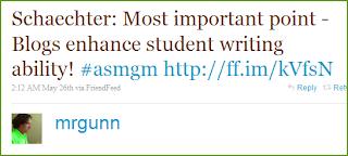 Twitter - Mr. Gunn