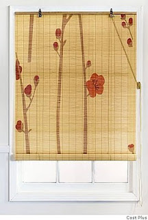 painted wood blinds