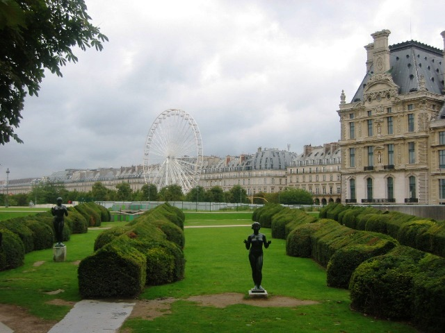Beav2 jardin des tuileries for Le jardin de la france