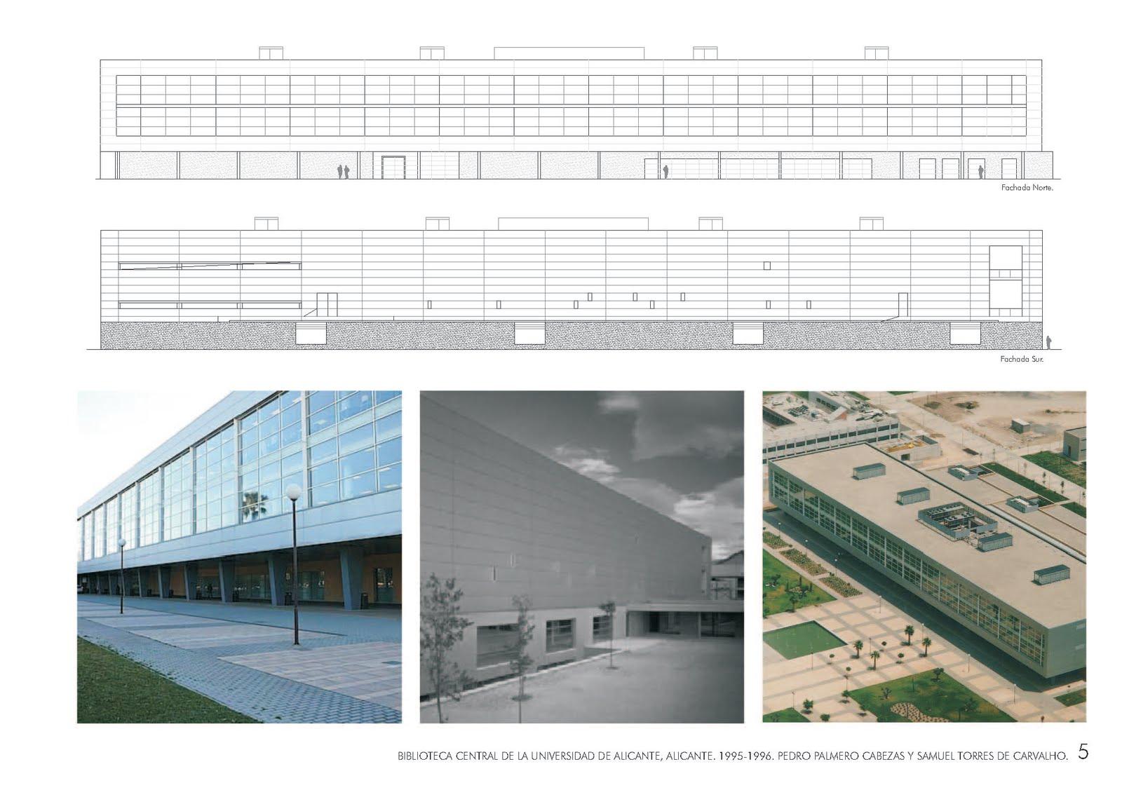 Arqbibliotecas biblioteca central universidad alicante - Arquitectura tecnica sevilla ...