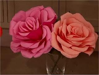 manualidades creando con estilo flores de papel