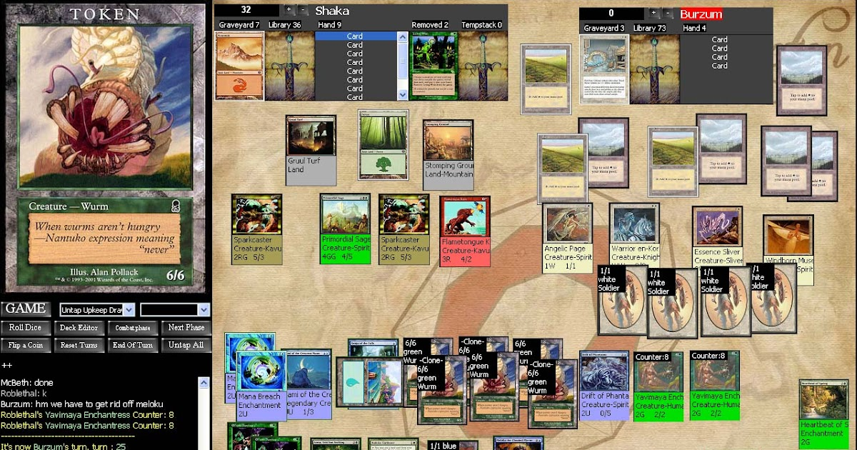 computer programming and magic the gathering octgn card playing