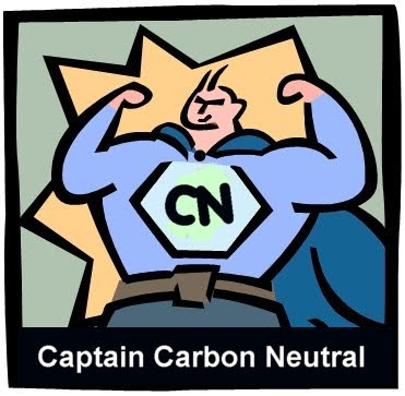 Captain Carbon Neutral - Helping Reduce Global Carbon Emissions and Stop Climate Change