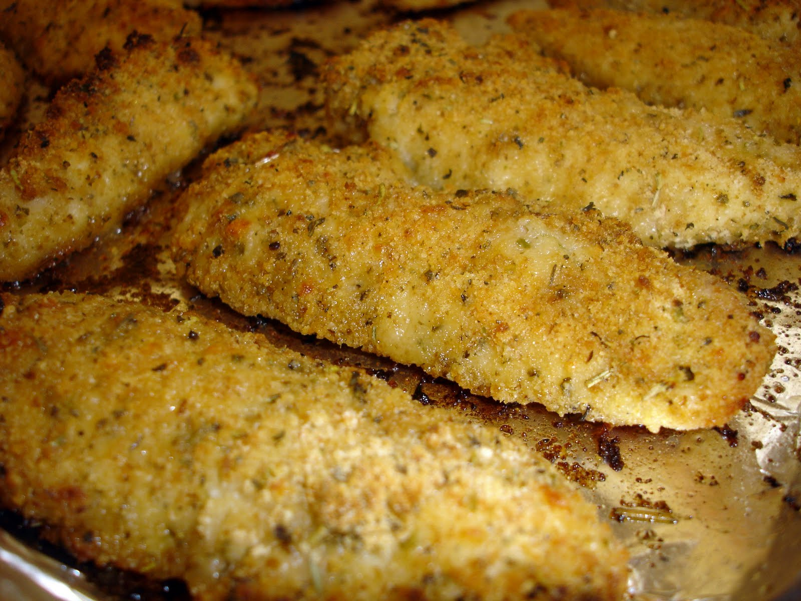 ... Club: Herbed Parmesan Chicken Tenders with The Kids Cook Monday