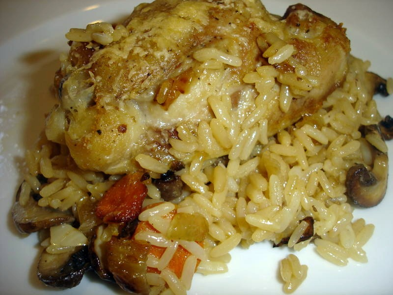 Mom's Cooking Club: Chicken and Rice with The Kids Cook Monday!