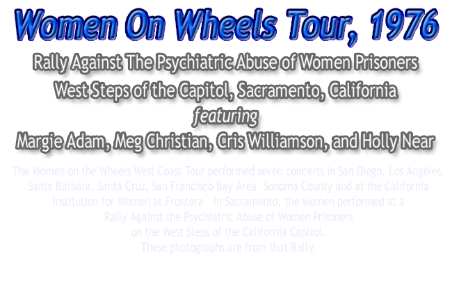 Women On Wheels Tour Rally, 1976