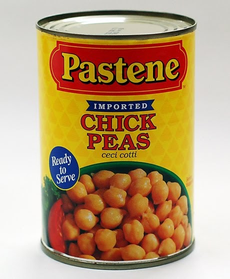 how to cook chickpeas in a can