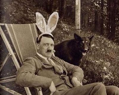 hitler in bunny ears