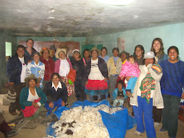 Workshops with the women of Acopalca community, Ancash, Peru