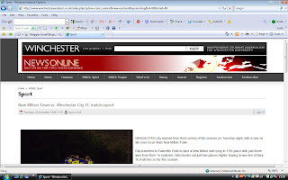 Winchester News Online Sport
