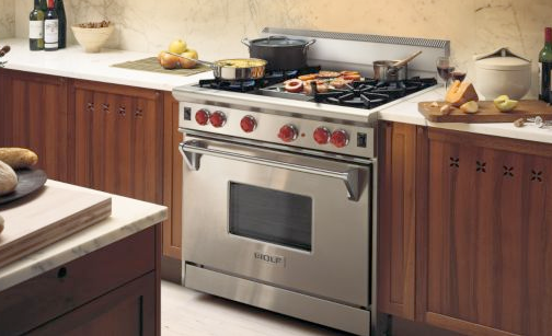 Side By Side Double Oven Electric Range