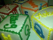 baby blox cakes