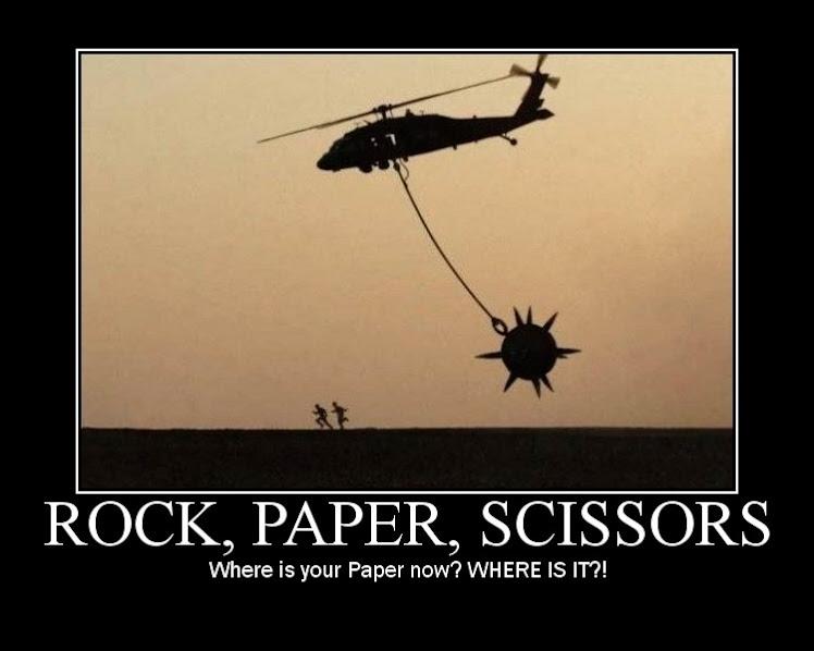 Rock, Paper, DEATH