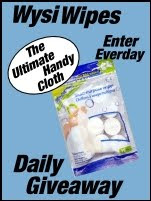 Wysi Wipes Daily Giveaway