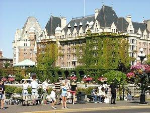 Fairmont Empress Hotel em Victoria