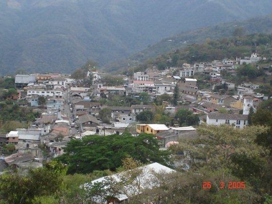 Riesgo en Pahuatlán