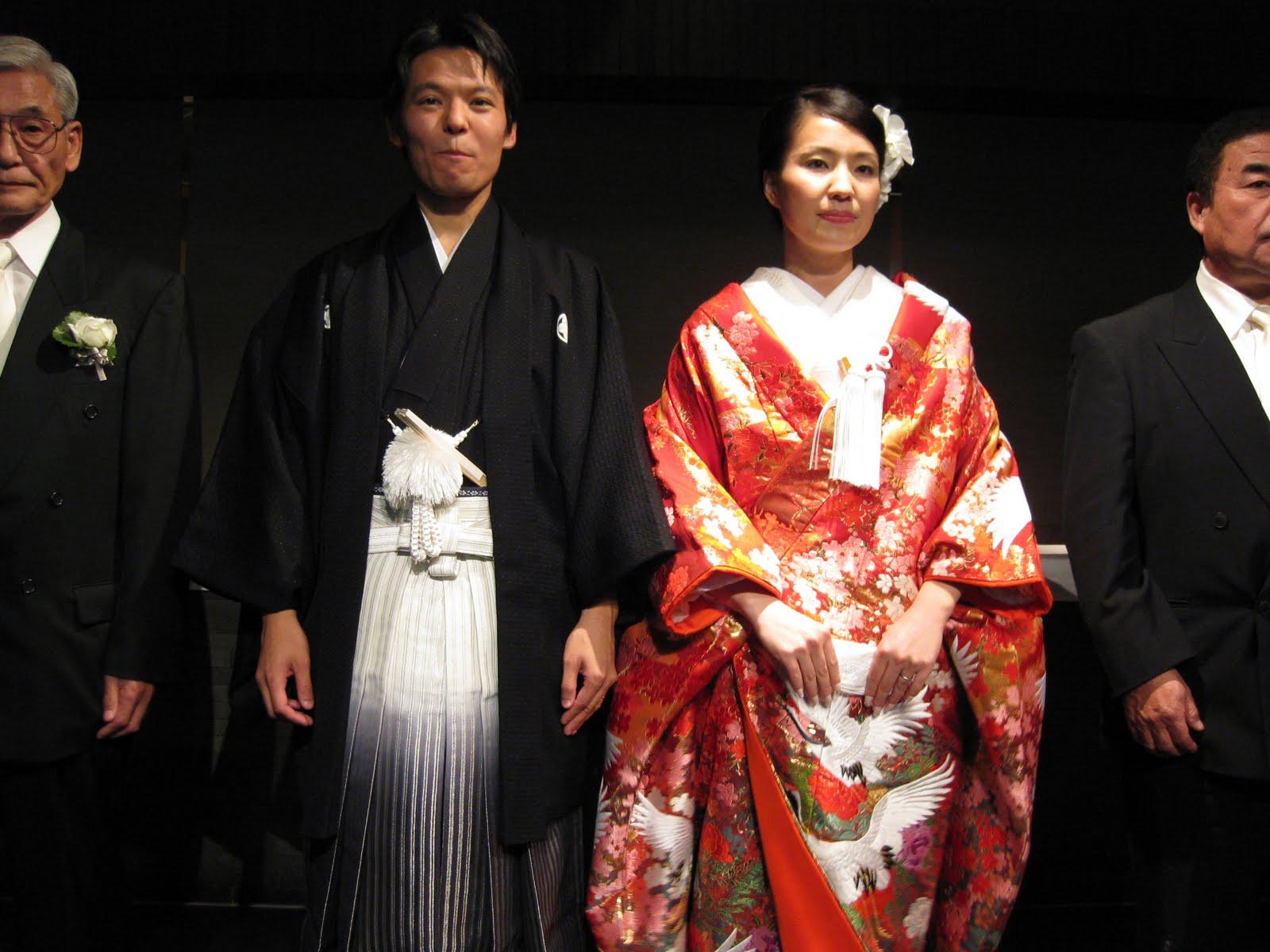 Japanese wedding blessings - Hakama And Wedding Kimono Super Heavy