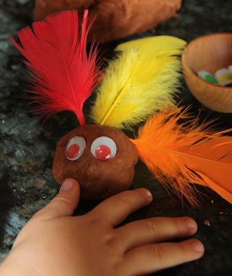 Turkey Playdough Activity (Photo from Counting Coconuts)
