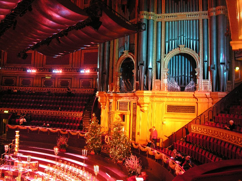 La vie boheme the royal box for Door 12 royal albert hall