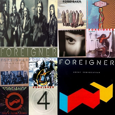 Foreigner Discography (1977-2005) Page