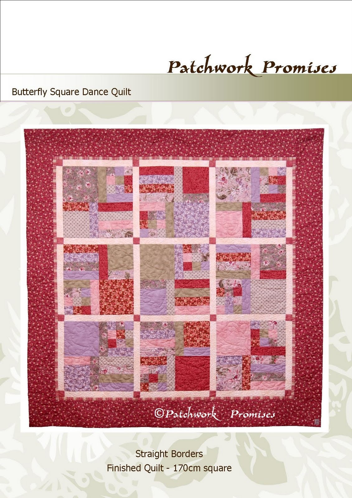 Patchwork Promises Another Give Awaybutterfly Square Dance