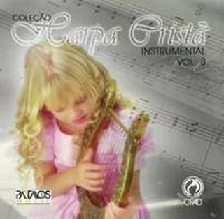 24fadqr CD Coleção Harpa Cristã Instrumental Vol.08