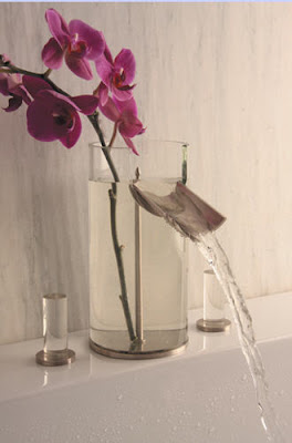 Patricia Gray Interior Design: Lucite and Glass Faucet :  faucet