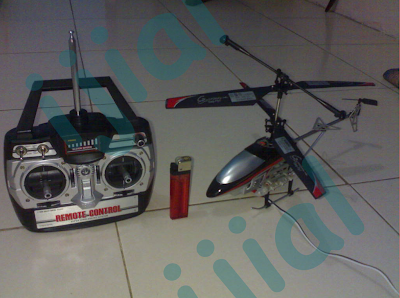Falcon XIV RC Helicopter Medium - ijial