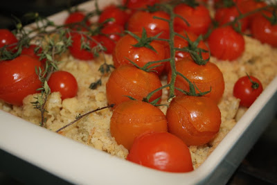 Fennel, cherry tomato and crumble gratin - Ottolenghi