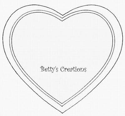 bettys creations anleitung herzsch chtelchen. Black Bedroom Furniture Sets. Home Design Ideas