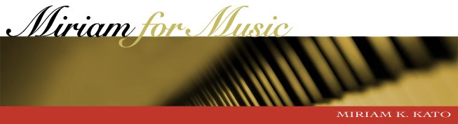 Miriam for Music
