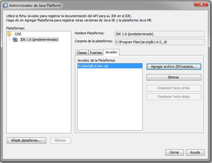 Impulso Java: Abrir Javadoc desde menú contextual con ... Javadoc Netbeans