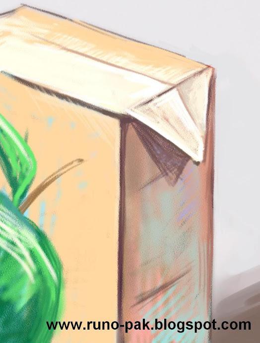 Приготовьте пакет с продуктом или напитком