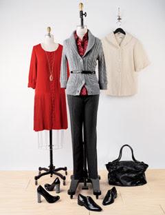 Çalışan bayanlara 2009 kış modası