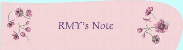 RMY's Note