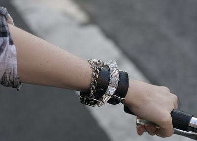 Borgo pyramid bracelet
