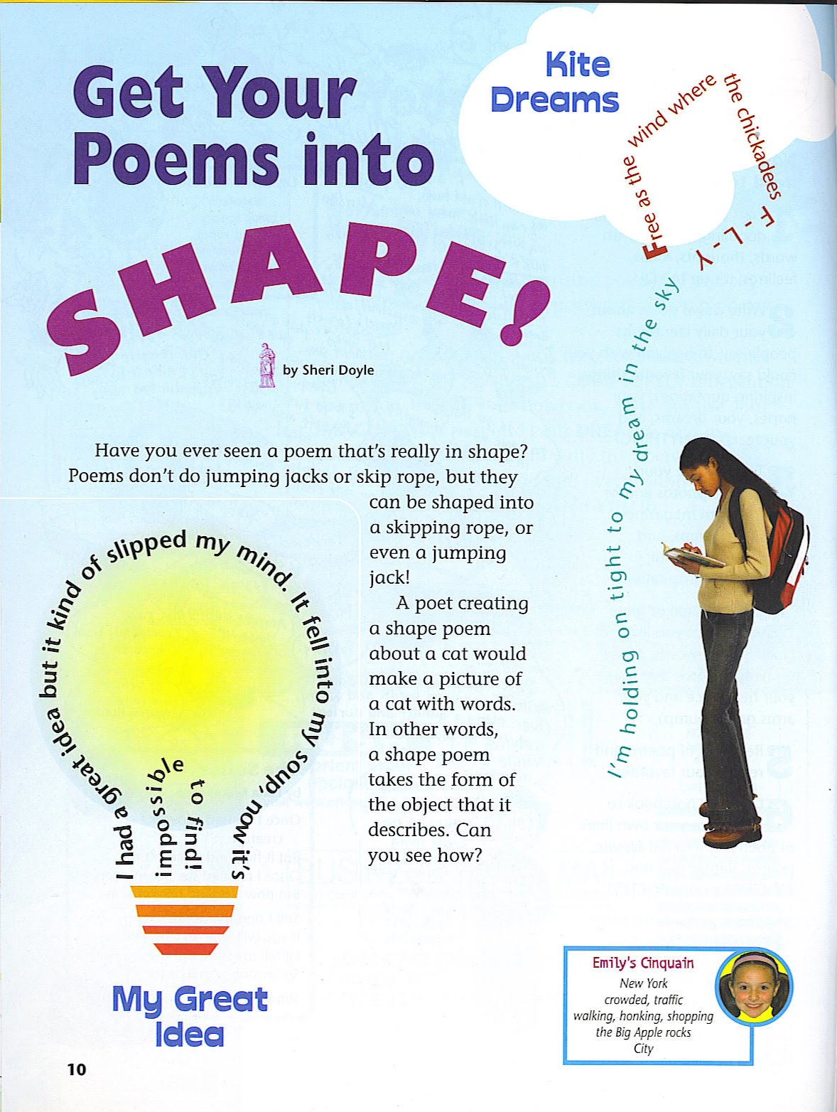 Sheri Doyle: Poetry Friday - Shape Poems