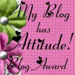 Blog With Attitude Award