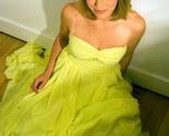 Spring Fling Yellow Chiffon Dress -$260-