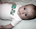 RecGlass Onesie Cool Blue -$10-