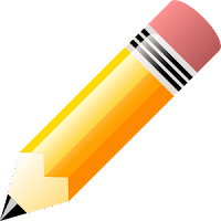Clip art pencil image