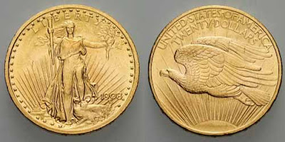 US Double Eagle 1908