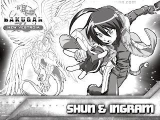 Printable Bakugan coloring pages for kids